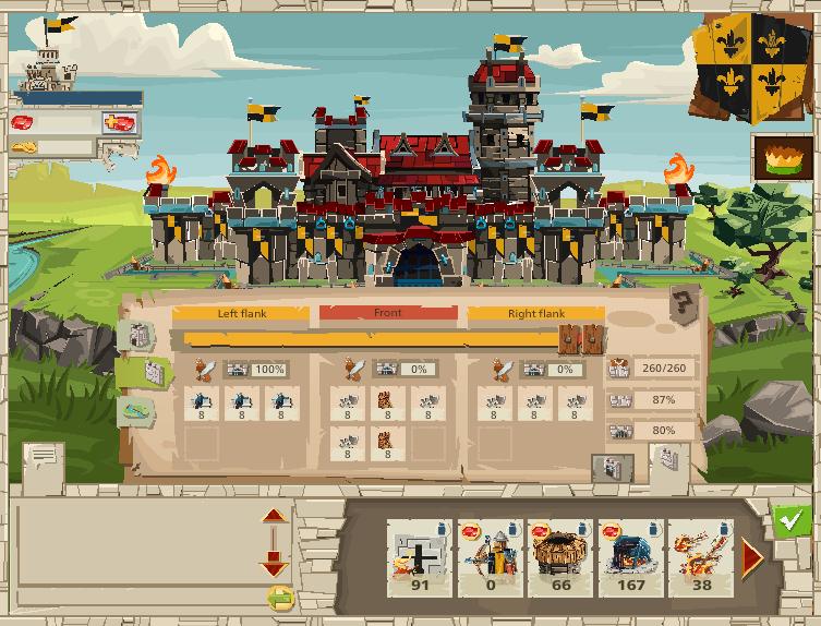 Setting Defense - Wiki for GoodGame Empire